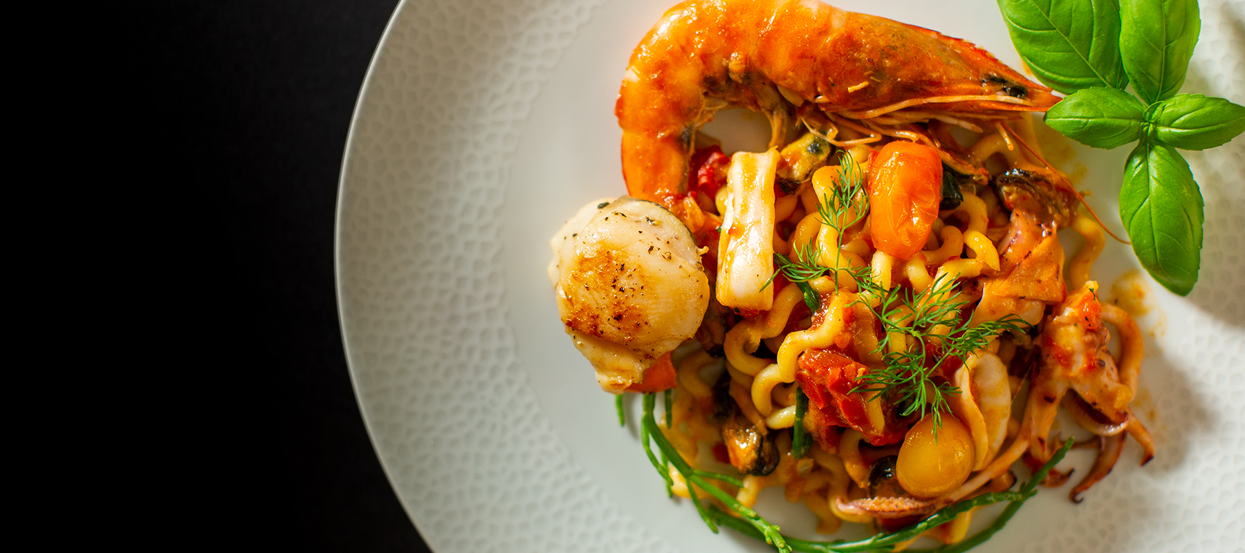 Seafood Pasta, London - Russ Gostelow Photography